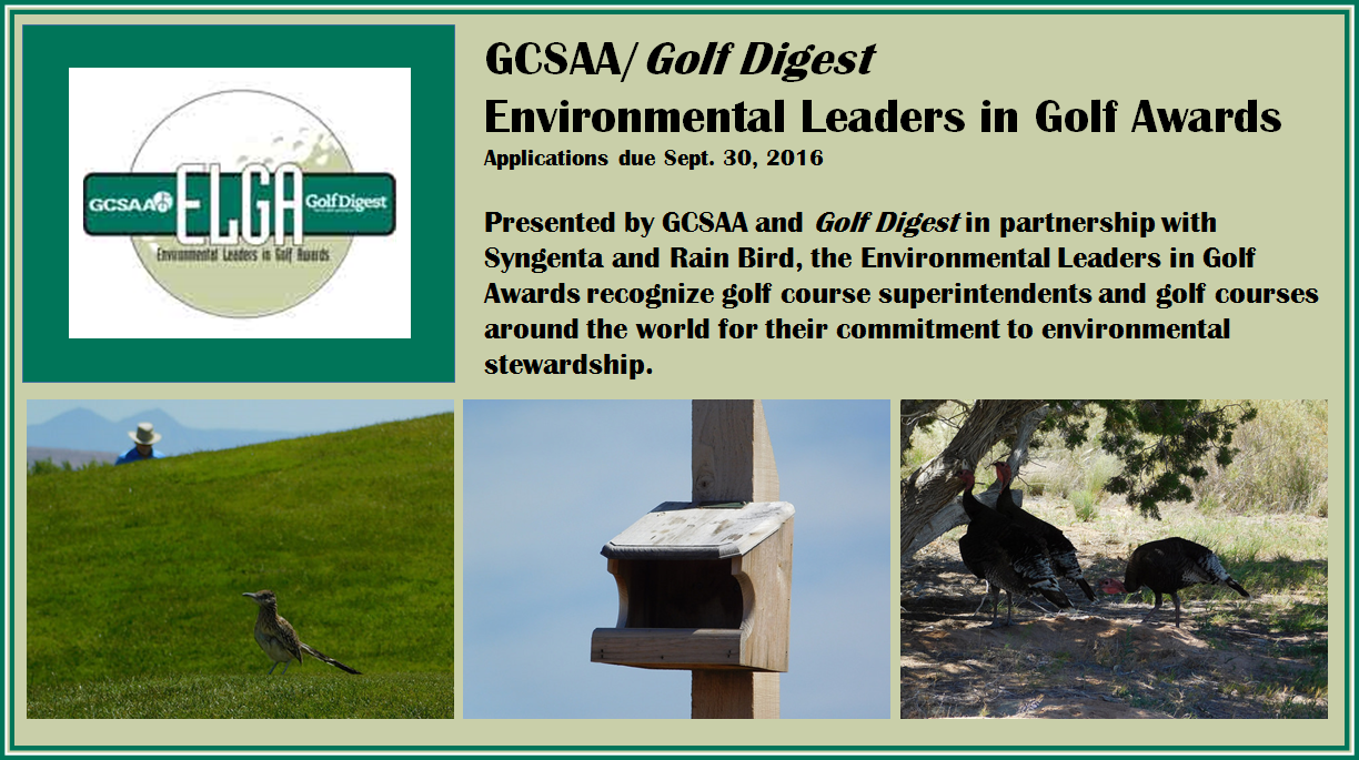Environmental Leaders in Golf Awards – A great way to ...